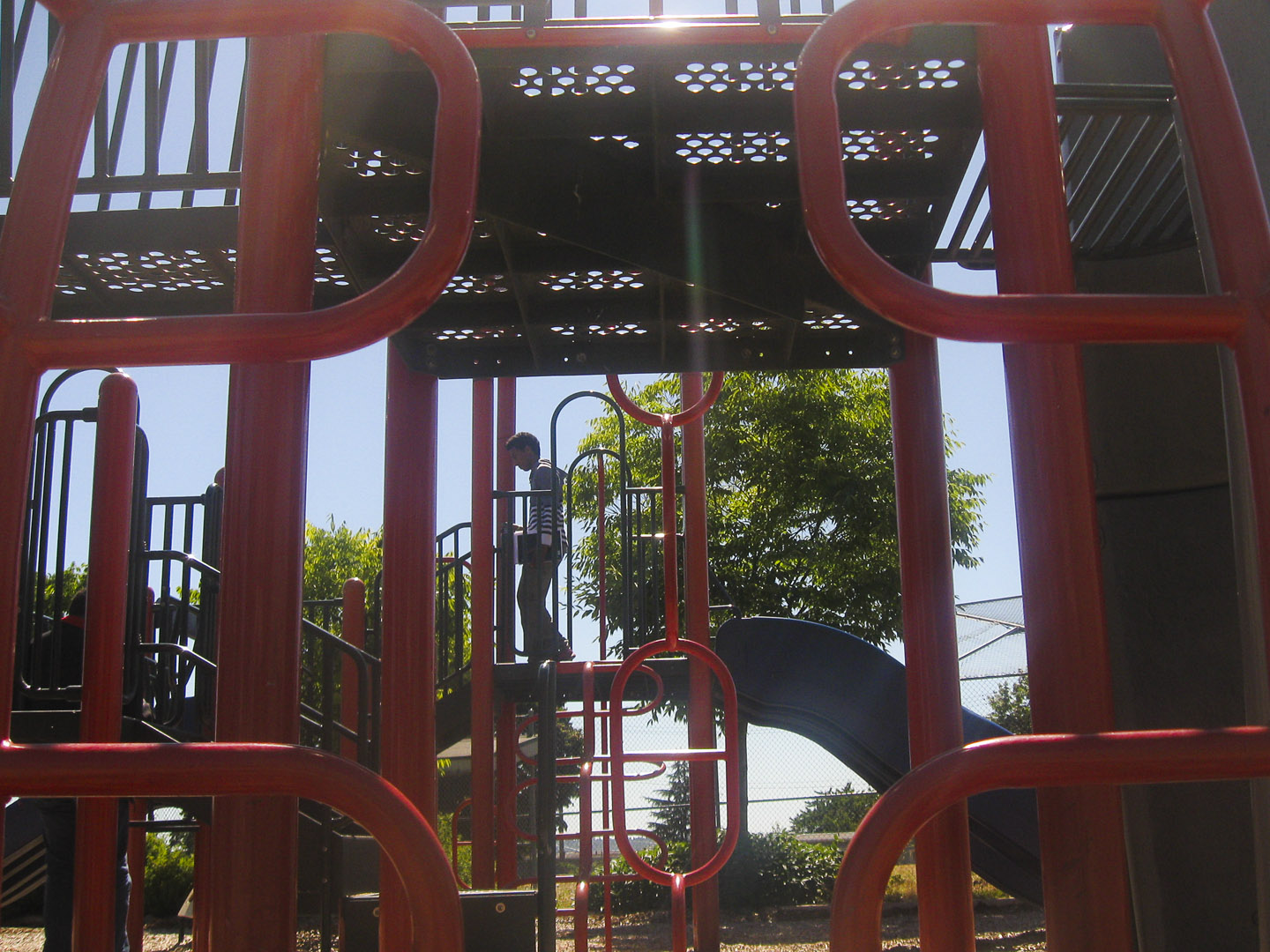 Playground behind the Community Center